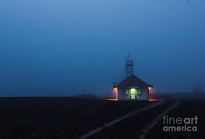 Photograph - Foggy Dawn At Kew Beach by Jim Crawford