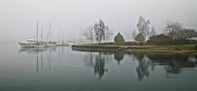 Photograph - Foggy Dawn by Cameron Wood