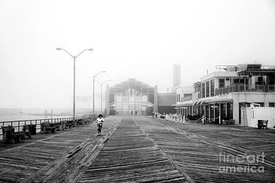 Photograph - Foggy Day At Asbury Park by John Rizzuto