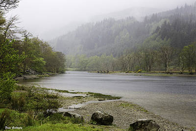 Photograph - Foggy Day At Loch Lubnaig by Fran Gallogly