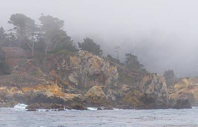Photograph - Foggy Day At Point Lobos by Derek Dean