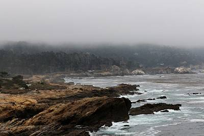 Photograph - Foggy Day At Point Lobos Reserve  by Christy Pooschke