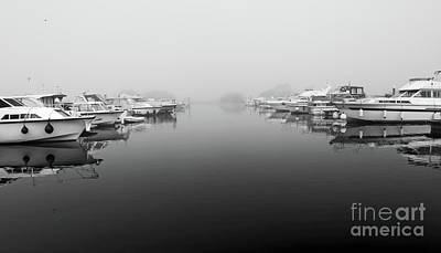 Photograph - Foggy Day Banagher by Peter Skelton