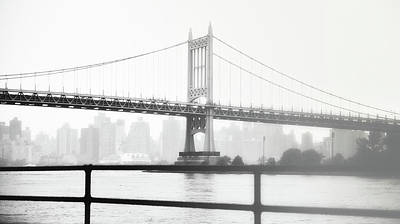 Photograph - Foggy Day East River From Astoria by Steve Archbold