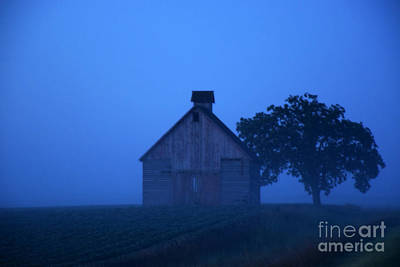 Photograph - Foggy Day In The Country by Kathy M Krause