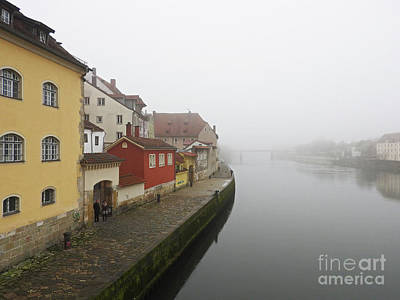 Photograph - Foggy Day On The Danube by Nanette OHara