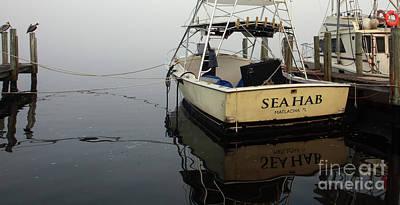 Foggy Day On The Sea Hab Art Print