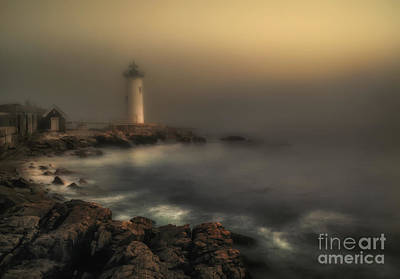 New Castle Photograph - Foggy Daybreak by Scott Thorp