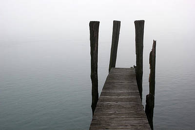 Photograph - Foggy Dock 51 by Mary Bedy