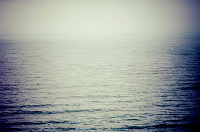 Photograph - Foggy Dusk Oceanside Oregon by Amyn Nasser