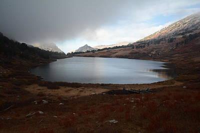 Photograph - Foggy Favre Lake by Jenessa Rahn