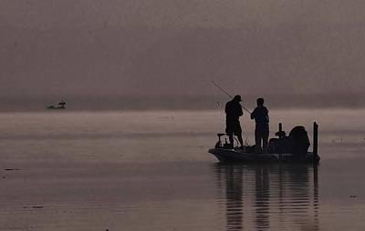 Photograph - Foggy Fishing by Buddy Scott