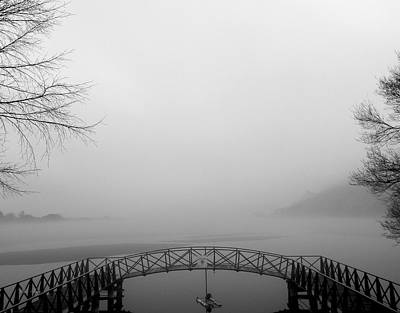 Photograph - Foggy Fishing by Wild Thing