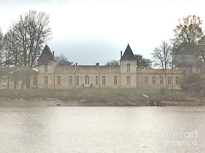 Photograph - Foggy French Chateau by Barbara Plattenburg