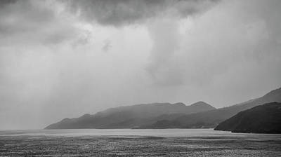 Photograph - Foggy Island by Mick Burkey