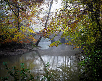 Photograph - Foggy Jemison Park by Just Birmingham