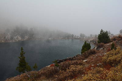 Photograph - Foggy Liberty Lake by Jenessa Rahn