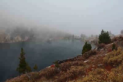 Photograph - Foggy Liberty Lake by Jenessa Rahn