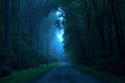 Photograph - Foggy Light by Buddy Scott