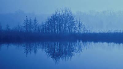 Photograph - Foggy Marsh by John Hansen
