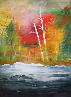 Foggy Morning 2 Art Print by Julie Lueders