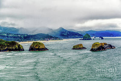 Photograph - Foggy Morning Along The Oregon Coast by Jon Burch Photography