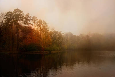 Photograph - Foggy Morning At Lake Lajoie by Jai Johnson