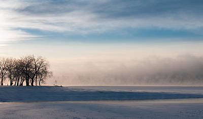 Photograph - Foggy Morning At Lake Loveland by Monte Stevens