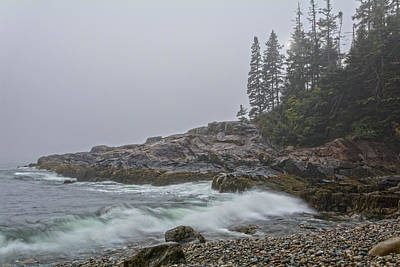 Photograph - Foggy Morning At Little Hunter's Beach by Angelo Marcialis