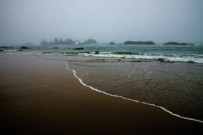 Photograph - Foggy Morning At The Ocean by Michael Balen