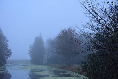 Photograph - Foggy Morning At The Park by Jo Jurkiewicz