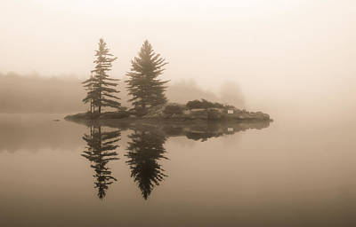 Photograph - Foggy Morning Caution by Karl Anderson