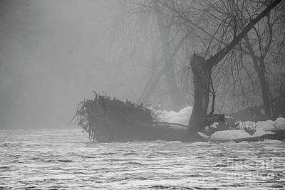 Photograph - Foggy Morning by David Bearden