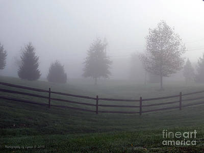 Photograph - Foggy Morning by Gena Weiser