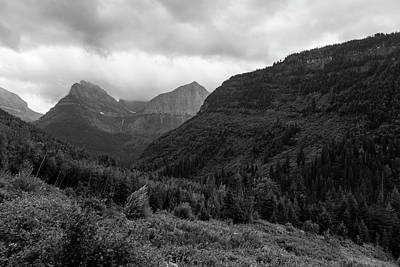 Photograph - Foggy Morning Glacier National Park by John McGraw