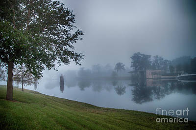 Photograph - Foggy Morning In Alva Florida by Judy Hall-Folde