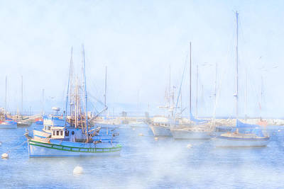 Photograph - Foggy Morning In Monterey by Mark E Tisdale