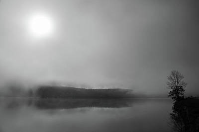 Photograph - Foggy Morning Lake Reflections by Brooke T Ryan