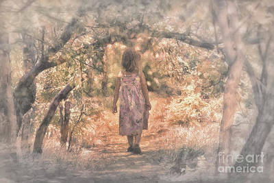 Digital Art - Foggy Morning Light by Mary Lou Chmura