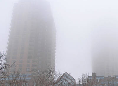 Lowertown Photograph - Foggy Morning Lowertown II by Janis Beauchamp