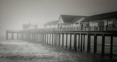 Foggy Morning Art Print by Martin Newman