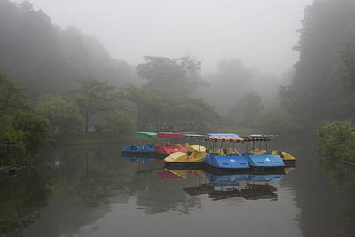 Photograph - Foggy Morning by Masami Iida