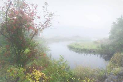 Photograph - Foggy Morning by Myer Bornstein
