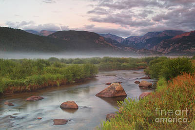 Photograph - Foggy Morning On Moraine Park by Ronda Kimbrow