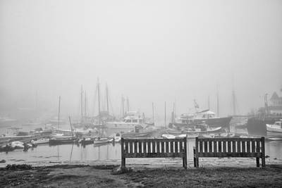 Photograph - Foggy Morning On The Sea by Vic Bouchard