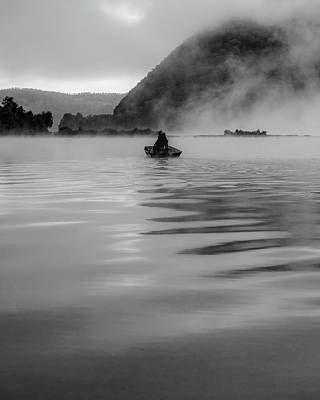 Photograph - Foggy Morning On The Susquehanna by Jim Cheney
