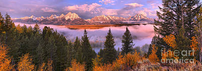 Photograph - Foggy Morning Over The Snake River by Adam Jewell
