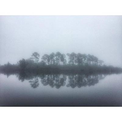 Landscapes Photograph - Foggy Morning #visitms #msgulfcoast by Joan McCool
