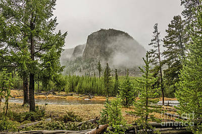 Photograph - Foggy Mountain by Sue Smith