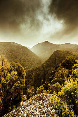 Photograph - Foggy Mountainous Forest by Jorgo Photography - Wall Art Gallery